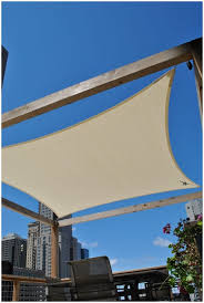 Sail Cover For Patio by Backyards Outstanding Coolaroo Shade Sail Installation Overview