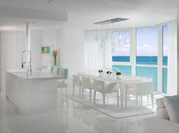 Modern Dining Room Sets Miami 16 Pristine White Rooms 1stdibs