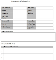 acceptance test report template acceptance testing template uat excel inspection and itp quality