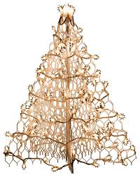 white wire crab pot tree with 100 clear mini lights contemporary