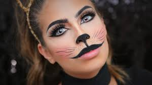 Cat Whiskers For Halloween Makeup by Cat Halloween Tutorial Youtube
