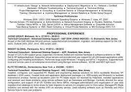 desktop support resume desktop support technician resume sle resume sle