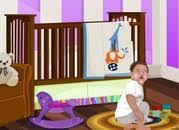 jeux de décoration de chambre de bébés
