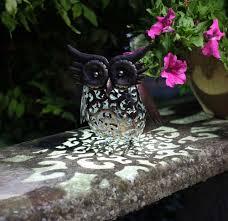Owl Patio Lights by Solar Animal Lights U0026 Solar Figures Garden Tools Gardening