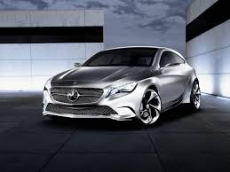 mercedes concept cars mercedes a class concept is nearly production ready