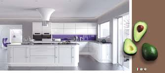 white contemporary high gloss kitchens on trend kitchen collection