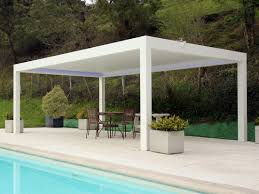 Pergola Gazebo With Adjustable Canopy by Pergolas Canopies And Garden Awnings Archiproducts
