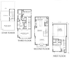 three story house plans floor plans for a 3 story house adhome