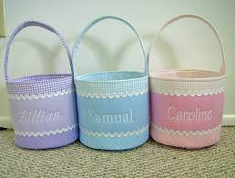 personalized easter baskets for kids the chic easter baskets from etsy pottery barn kids concerning