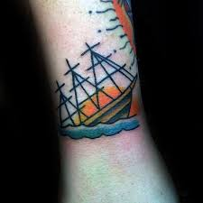 simple ship tattoo pictures to pin on pinterest tattooskid