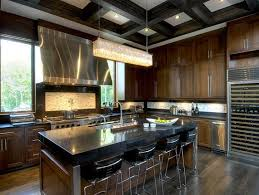 Black And Brown Kitchen Cabinets Chocolate Brown Kitchen Cabinets Design Ideas