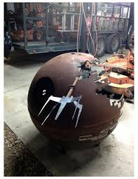 Propane Tank Firepit Pit 5 8 S Steel Recycled Propane Tank With X Wing