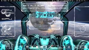 the spaceship u0026 a digital hud geeklets