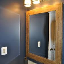 old with also rustic wood bathroom mirror throughout home goods