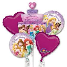 birthday balloon bouquets disney princess birthday cake balloon bouquet inflated with helium