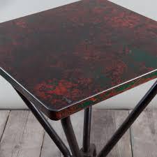 vintage french metal bistro table soho home