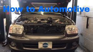 2000 toyota sequoia how to replace the secondary air injection and check valves