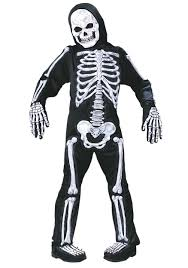 skeleton dress spirit halloween scary kids costumes scary halloween costume for kids