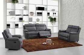 ensemble de canapé ensemble canapé de relaxation 3 places électrique et 2 places fixe