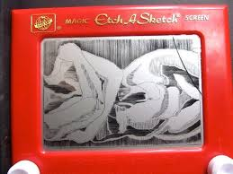 creating art on an etch a sketch valley public radio