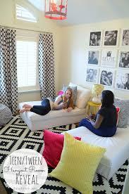 Tween Chairs For Bedroom Teen Tween Hangout Room Reveal Inawaverlyworld Hangout Room