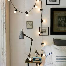 String Lights In Bedroom by