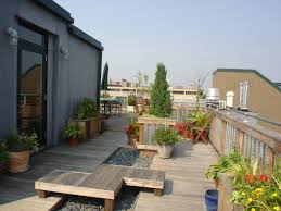 Rooftop Deck Design by Wood Rooftop Deck And Planters Archadeck Outdoor Living