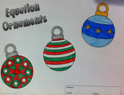 equation ornaments solve and color equation differentiation