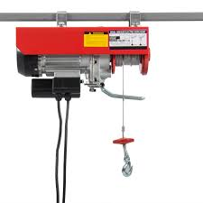 electric hoist motor overhead winch crane lift remote control