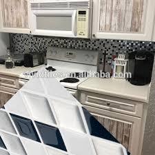 Tile Decals For Kitchen Backsplash Kitchen Oil Proof Backsplash Tile Decals Multicolor Diy Steps