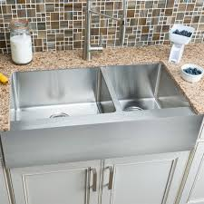 pictures of farmhouse sinks hahn fh010 flat apron farmhouse 60 40 double bowl stainless steel
