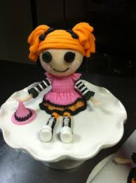lalaloopsy cake topper make a lalaloopsy cake topper with modeling chocolate