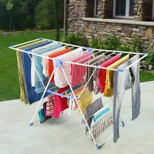 decor outdoor wall mounted clothes drying rack breakfast nook