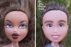 tree change makeunder dolls
