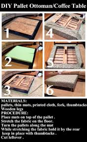Fabric Coffee Table by Best 20 Ottoman Coffee Tables Ideas On Pinterest Tufted Ottoman