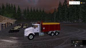 2015 kenworth truck kenworth dump bed truck v2 farming simulator 2017 2015 15