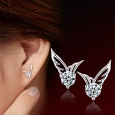 wing earrings best 25 wing earrings ideas on angel wing earrings