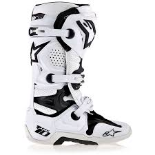 motocross boots alpinestars tech 10 motocross off road white footwear off road boots