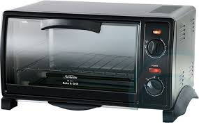Portable Toaster Oven Sunbeam Bt2600 Mini Bake U0026 Grill Toaster Oven Appliances Online