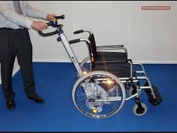 s max sella stairclimber adaptable for most wheelchairs manual