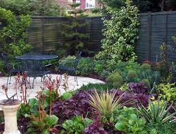 small north facing garden ideas google search gardens