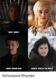 King Of The North Meme - first worst third golden bird second best fourth king of the north