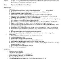 grocery store cashier job description cashier responsibilities resume cashier job description resume