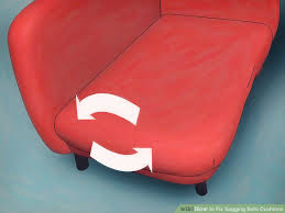 Under Sofa Cushion Support 4 Ways To Fix Sagging Sofa Cushions Wikihow