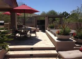 Backyard Landscape Design Photos Phoenix Landscaping Designs Outdoor Kitchens And Pavers