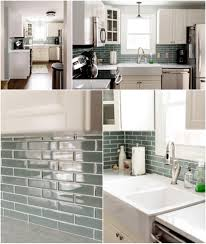 Glass Tiles Backsplash Kitchen Ikea Kitchen Renovation White Ikea Bodbyn Kitchen Blue Glass Tile