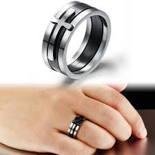 new mens rings images Brand black ring man fashion male jewelry accessories buycoolprice jpg