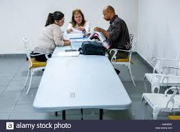 Board Meeting Table Miami Beach Florida Condominium Board Meeting Table Black Hispanic