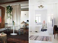 curtain room divider ideas beautiful white sheer curtain as room