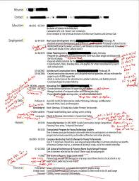 Personal Interests On Resume Examples by Intern 101 Redlined Resumes Straightforward Clear And Sharp